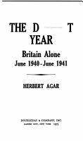The Darkest Year PDF