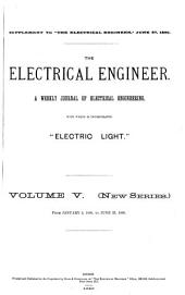 The Electrical Engineer: Volume 5