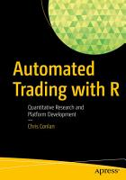 Automated Trading with R PDF