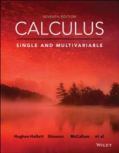 Calculus: Single and Multivariable: Edition 7