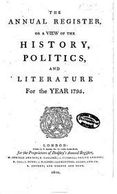 Annual Register: Volume 37