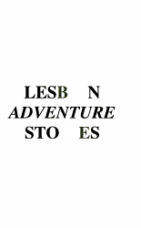 Lesbian Adventure Stories PDF