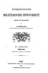 Österreichische militärische Zeitschrift: Band 2;Band 4