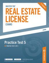 Master the Real Estate License Exam: Practice Test 5: Practice Test 5 of 6, Edition 7