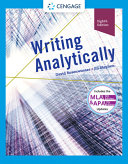 Writing Analytically with APA 7e Updates