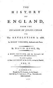 The history of England: from the invasion of Julius Caesar to the revolution of 1688, Volume 5