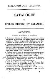 Catalogue des livres, dessins et estampes de la bibliothèque de feu m. J.-B. Huzard: Volume3