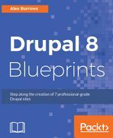 Drupal 8 Blueprints PDF