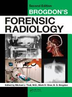Brogdon s Forensic Radiology PDF