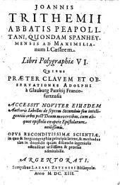 Libri polygraphiae VI