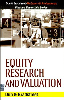 Equity Research And Valuation