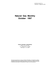 Natural Gas Monthly: October 1997
