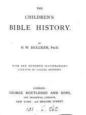 The children's Bible history