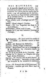 Histoire de la constitution Unigenitus en ce qui regarde la Congrégation de Saint-Maur