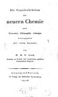 Die Grundwahrheiten der neueren Chemie PDF