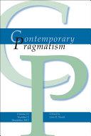 Contemporary Pragmatism  Volume 10  Number 2  December 2013 PDF