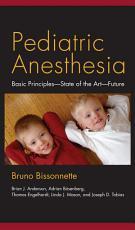 Pediatric Anesthesia PDF
