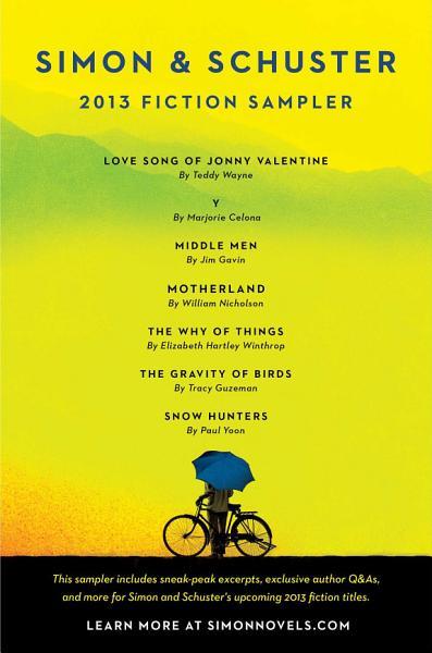 Simon   Schuster 2013 Fiction Sampler