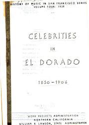 Celebrities in El Dorado PDF