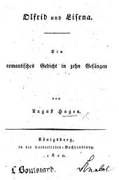 Olfrid und Lisena. Ein romantisches Gedicht in zehn Gesängen