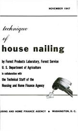 Technique Of House Nailing