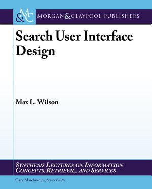 Search User Interface Design