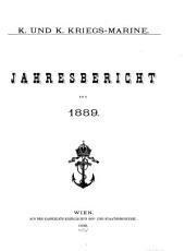 Jahresbericht der K. und k. Kriegmarine