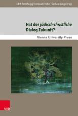 Hat der j  disch christliche Dialog Zukunft  PDF