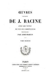 Oeuvres de Jean Racine :: Volume1