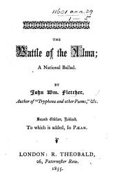 The Battle of the Alma, a national ballad