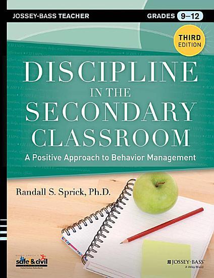 Discipline in the Secondary Classroom PDF