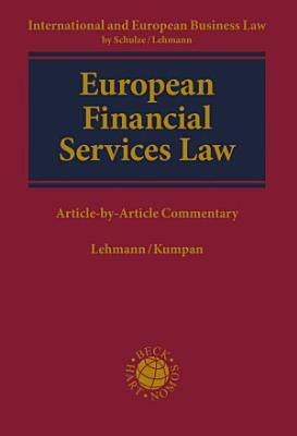 European Financial Services Law PDF