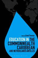 Education in the Commonwealth Caribbean and Netherlands Antilles PDF