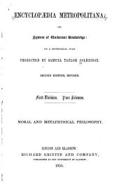 Moral and Metaphysical Philosophy: Philosophy of the First Six Centuries