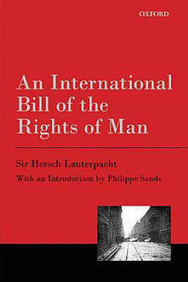 An International Bill of the Rights of Man PDF