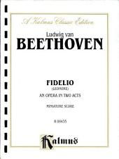 Fidelio: Choral Extended Work (Miniature Score)
