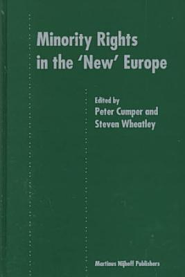 Minority Rights in the  new  Europe PDF