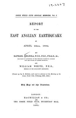 Report on the East Anglian Earthquake of April 22nd  1884 PDF