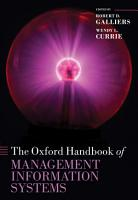 The Oxford Handbook of Management Information Systems PDF