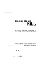 All You Need Is Kill PDF