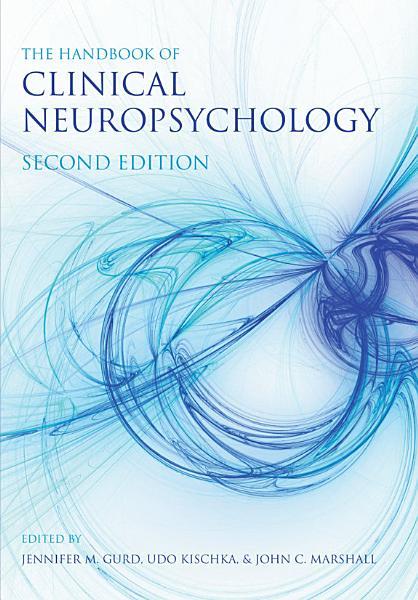 The Handbook of Clinical Neuropsychology PDF