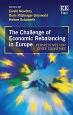 The Challenge of Economic Rebalancing in Europe PDF