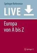 Europa von A bis Z PDF