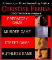 Christine Feehan Ghostwalkers Novels 6-9