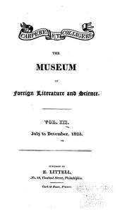 The Museum of Foreign Literature, Science and Art: Volume 3