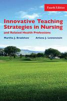 Innovative Teaching Strategies in Nursing and Related Health Professions PDF