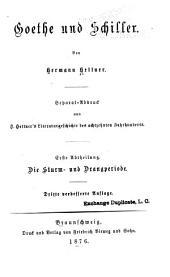 Goethe und Schiller: Band 1