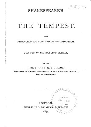 Shakespeare s The Tempest PDF
