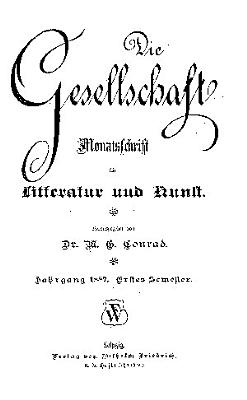 Die Gesellschaft PDF