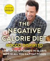 The Negative Calorie Diet PDF